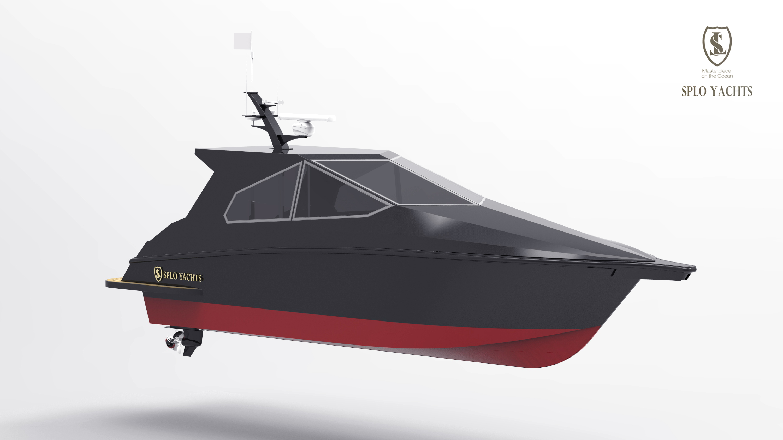 9.5m power yacht