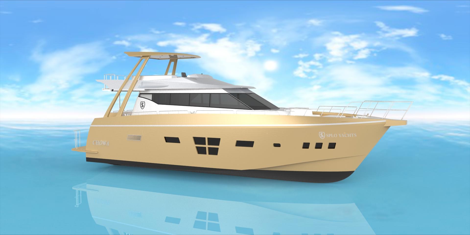 72ft Power boat