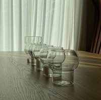 Bubble glass cup