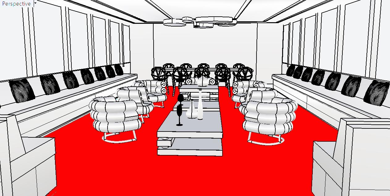 Super yacht - Interior concept