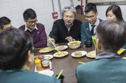 John Tsang Visit