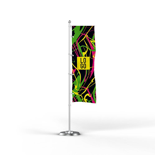 Bandiera Rettangolare FLUO