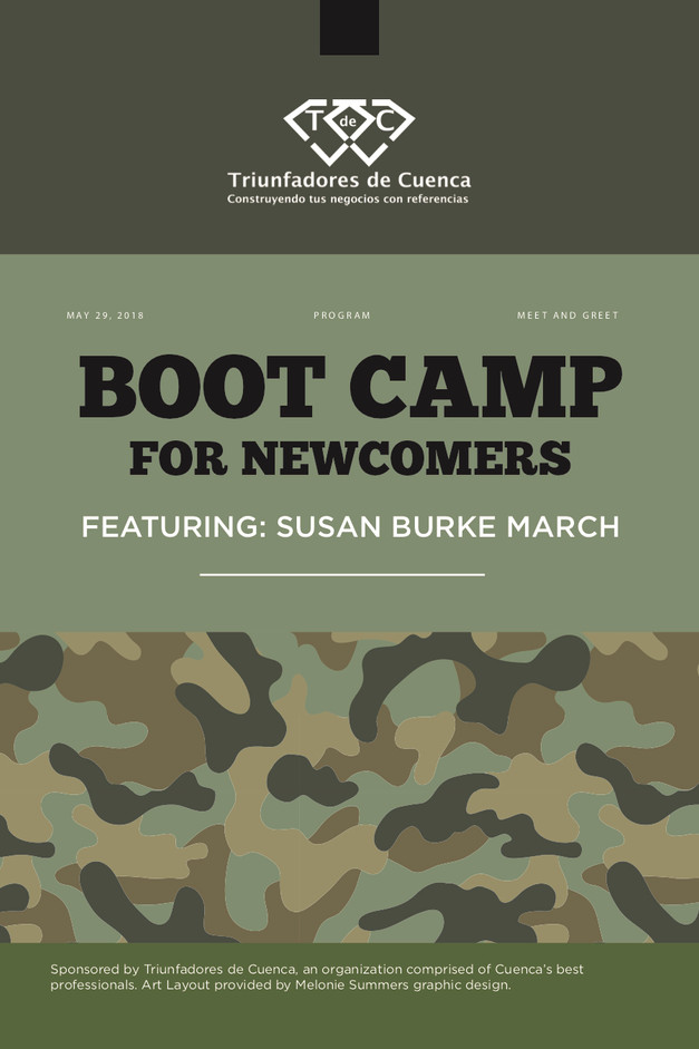 Boot Camp Networking Program Cover