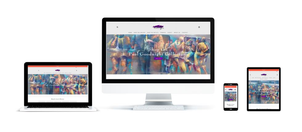 Umoja Fine Arts Gallery Website