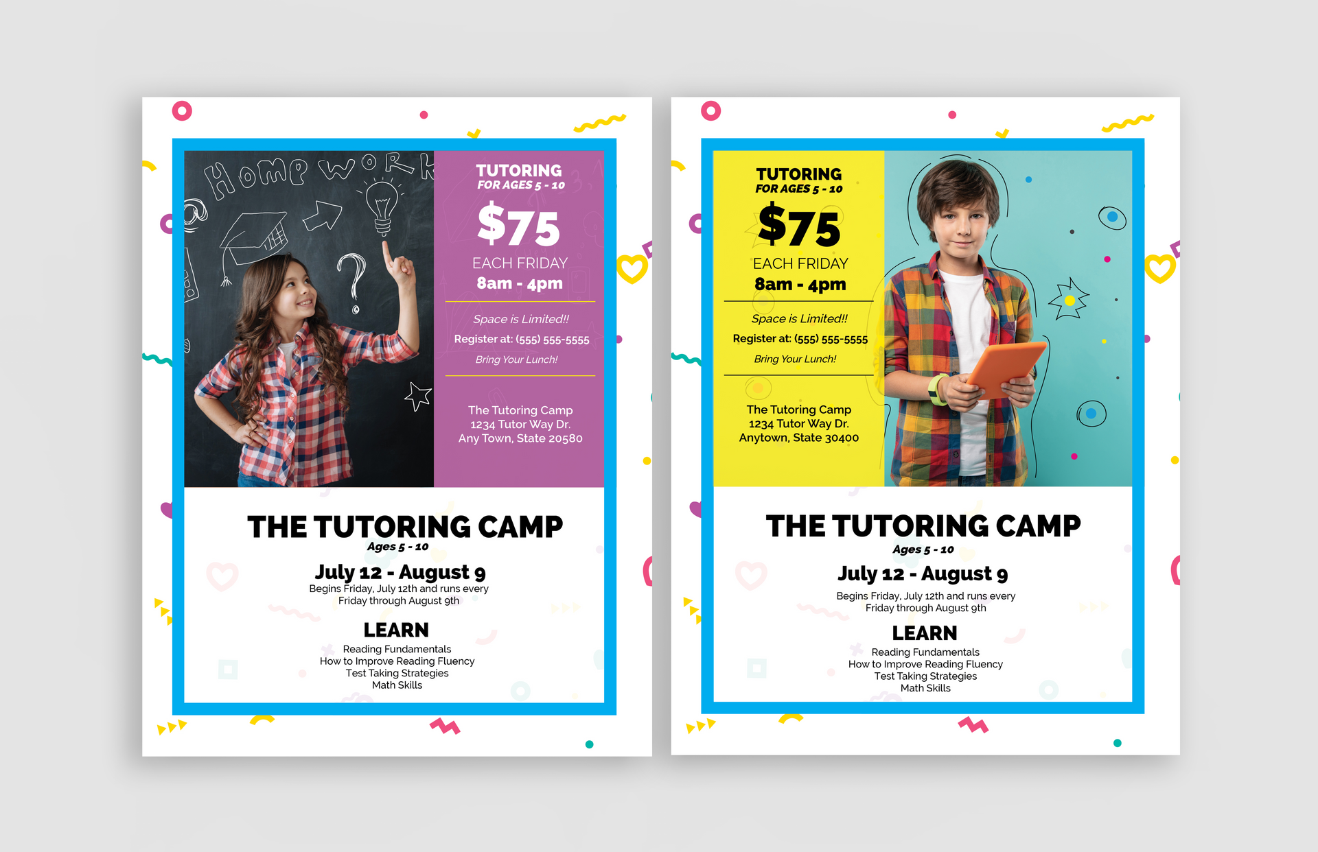 Flyers & Email Templates