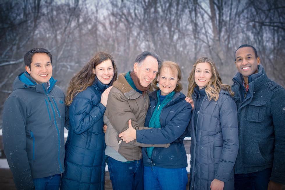 Family Winter Photo Shoot
