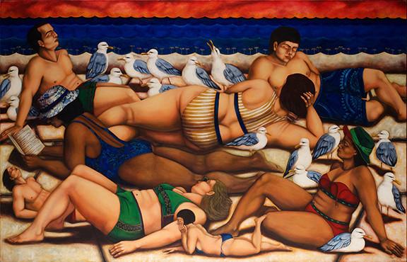 Caribbean dream by lake Erie