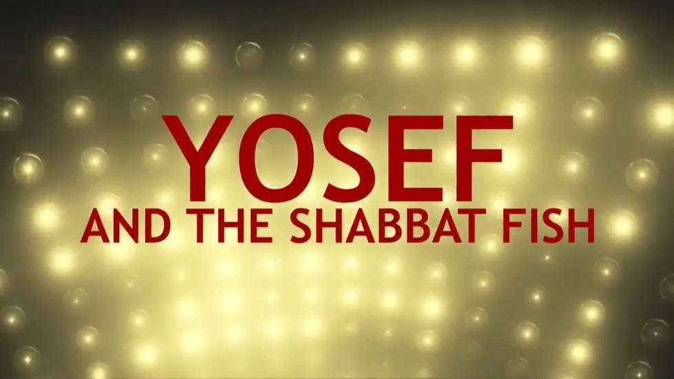 Backdrop for Shabbat story