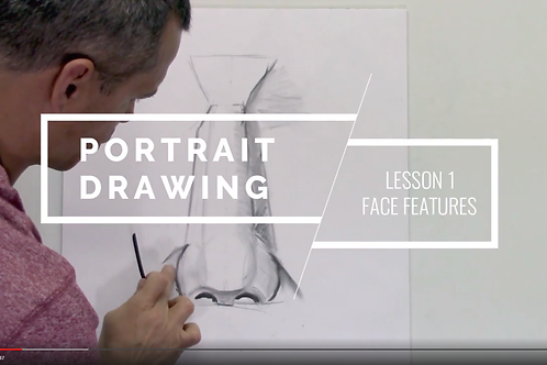 Portrait Drawing: Lesson 1- The Face Features