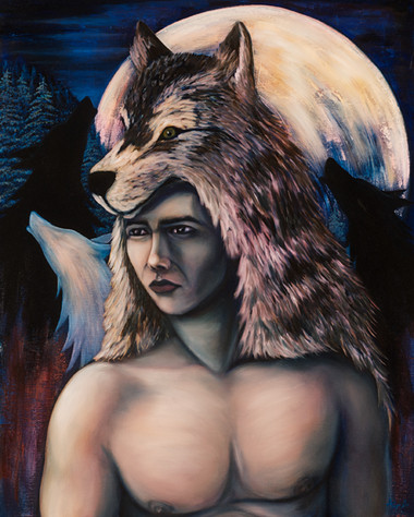 Wolves at Moon light