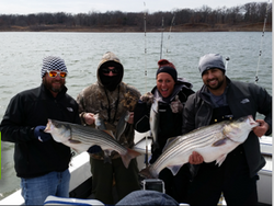 Finally Fishing Striper Guide Lake T