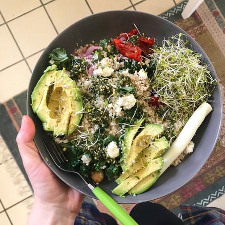 Khaleesi Quinoa Salad