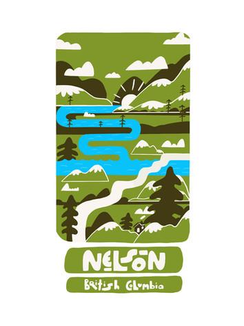 Nelson Sticker
