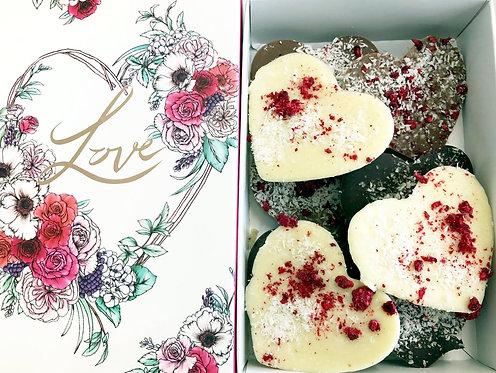 Typoflora Love Box - Raspberry & Coconut