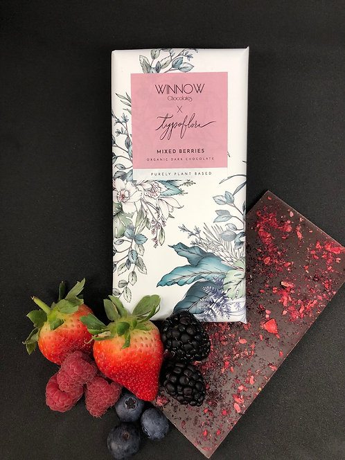 Purely Plant Based - Mixed Berries chocolate bar