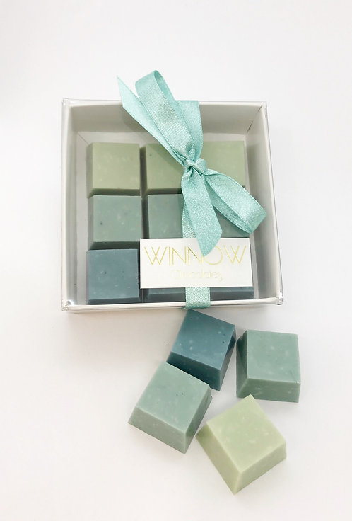 Marine Ombre cubes- Peppermint and Coconut