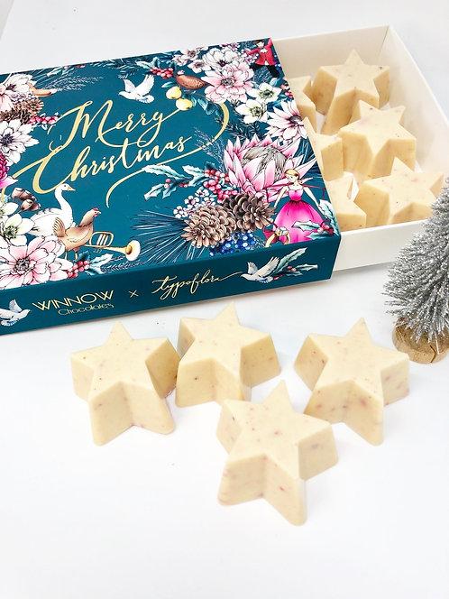 White Chocolate 12 Days of Christmas Box