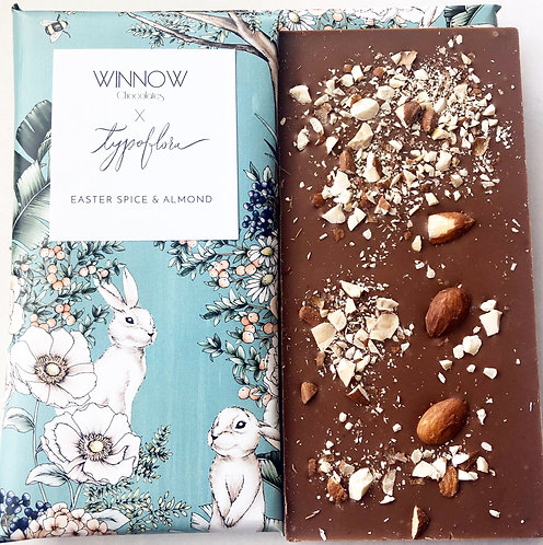 Easter chocolate bar - Easter Spice and Almond