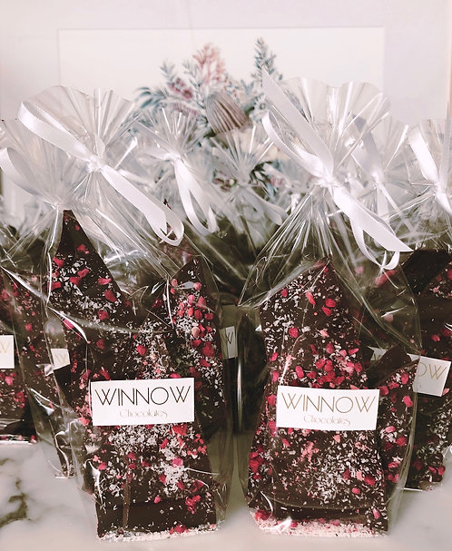 Dark Raspberry, Strawberry & Coconut Brittle Bag