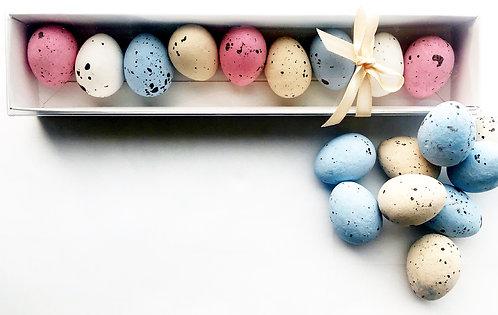 Speckled Praline Eggs