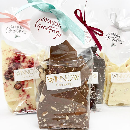Christmas Brittle Bags - bundle of 5