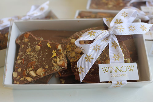 Salted Roasted Almond Crunch Brittle Box