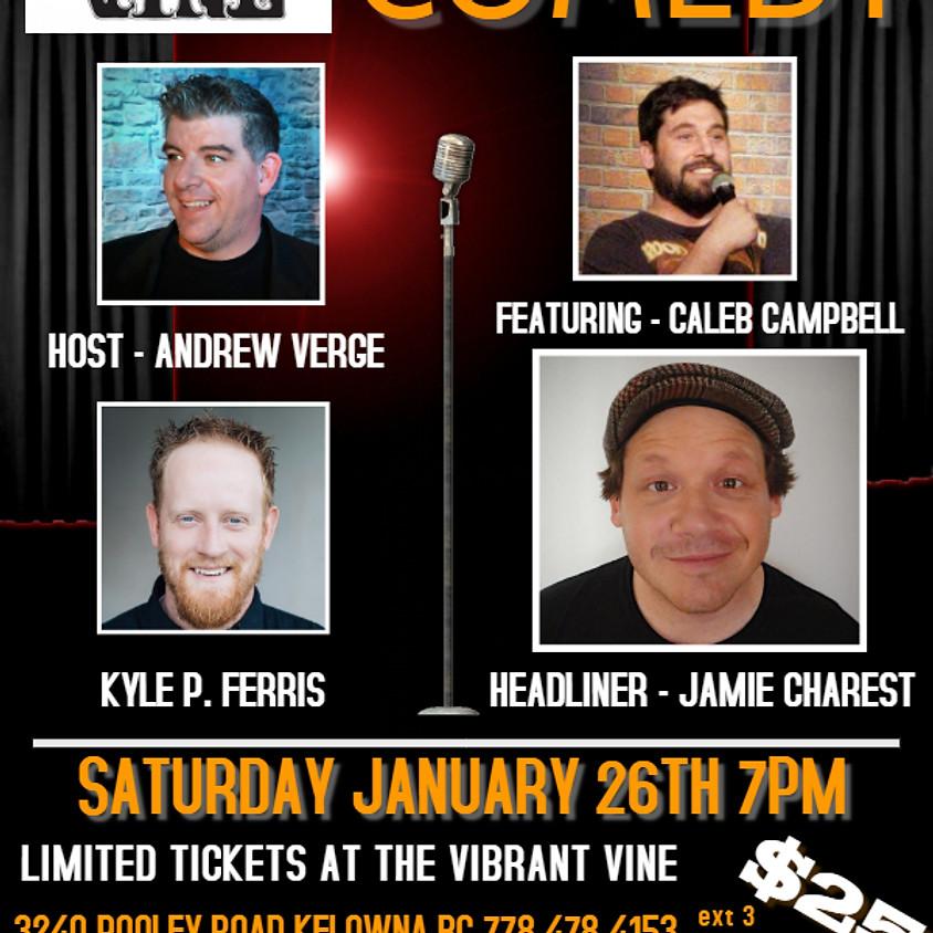 Underground Comedy at The Vibrant Vine