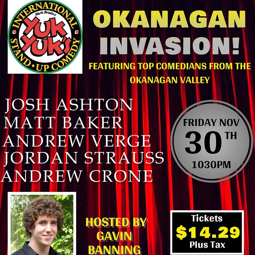 Okanagan Invasion at Yuk Yuk's Vancouver