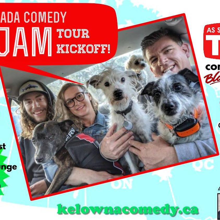 Canada Comedy Jam Tour Kickoff!