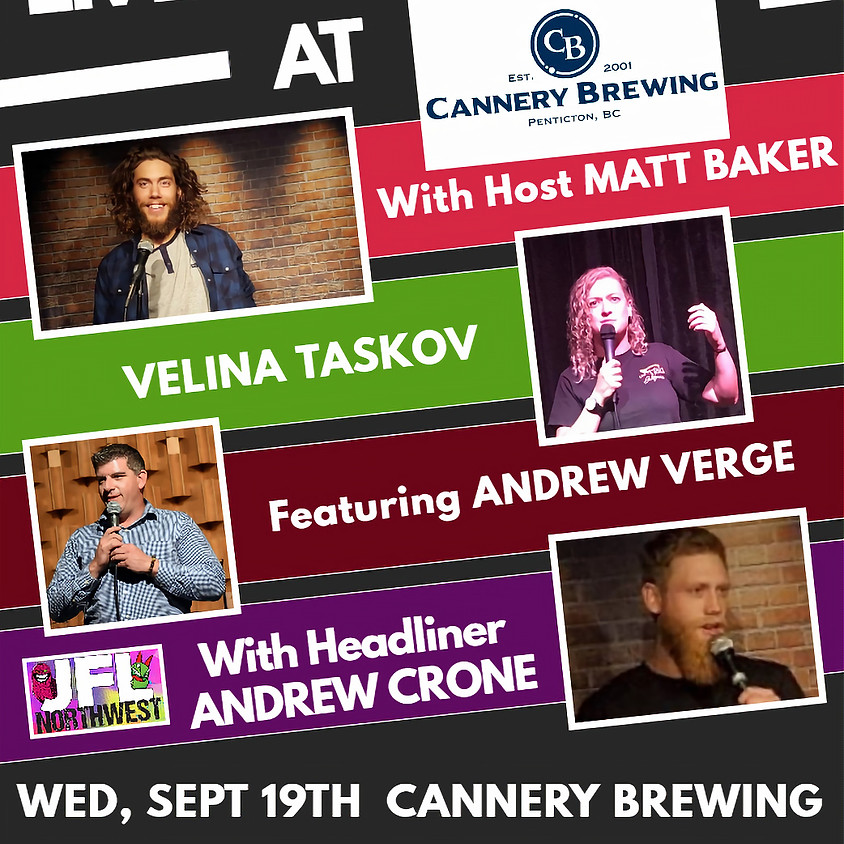 Comedy Night at Cannery Brewing