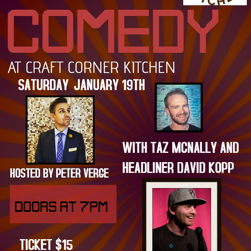 Crafted Comedy at Craft Corner Kitchen