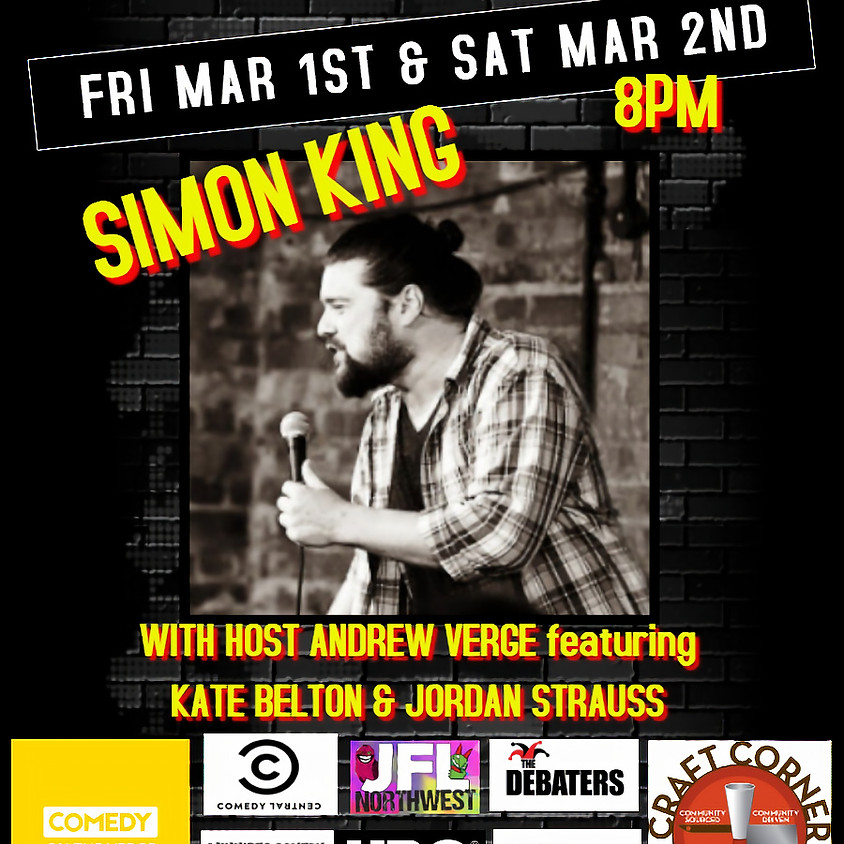 Live Stand-up with Simon King