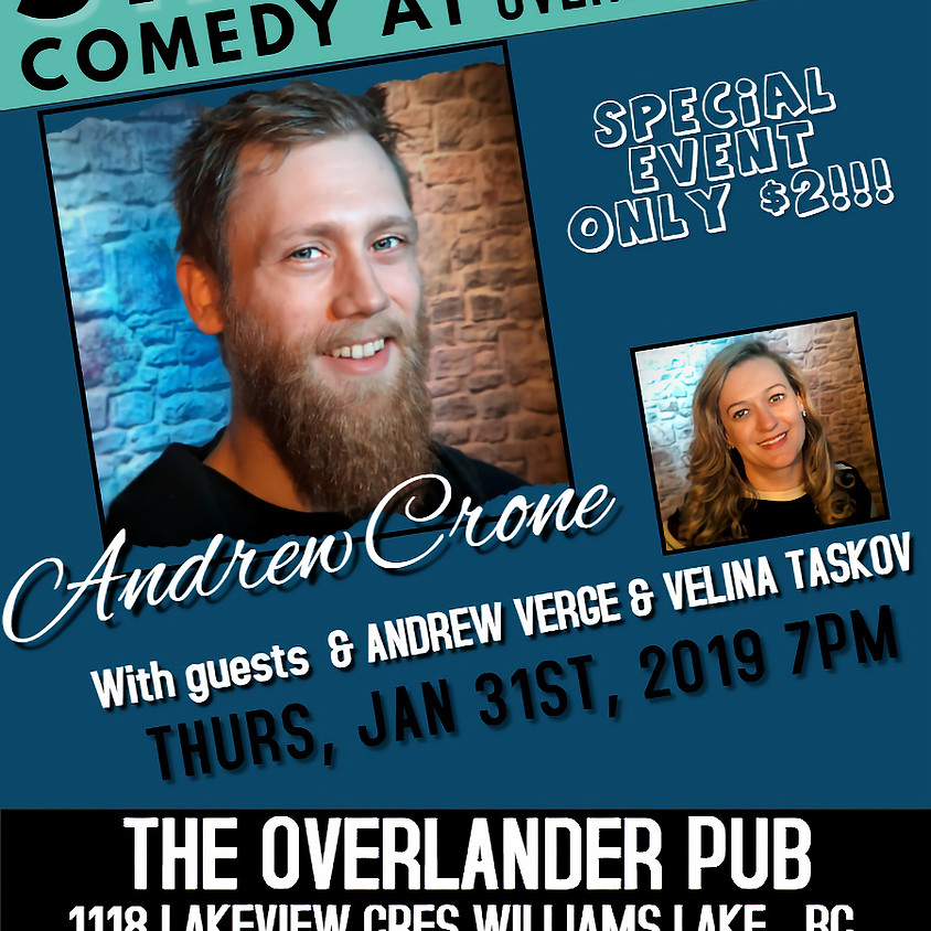 Stand-up Comedy at Overlander Pub