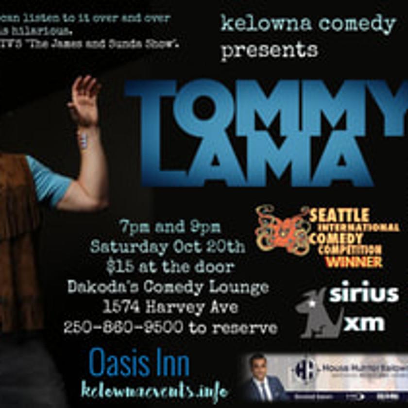 Tommy Lama at Kelowna Comedy