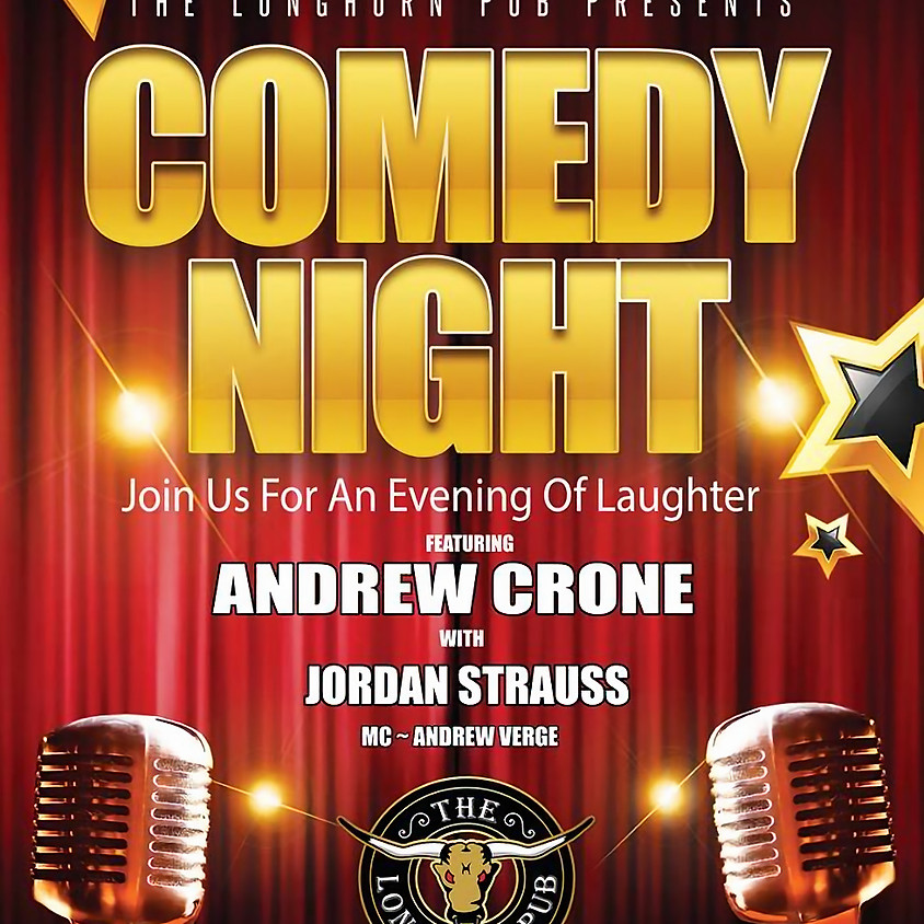 Comedy Night at The Longhorn Pub