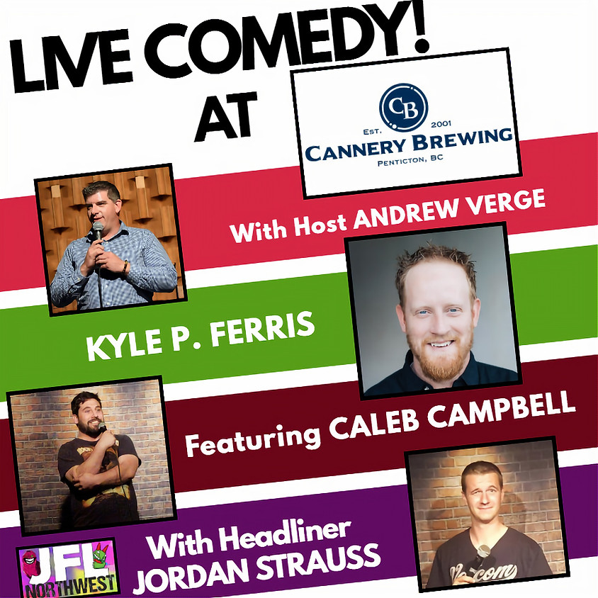 Comedy at The Cannery
