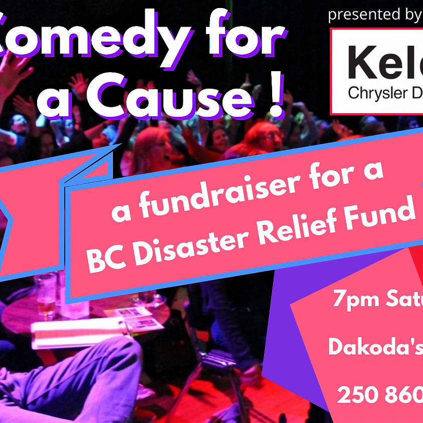 Comedy for A Cause: BC Disaster Relief Fund