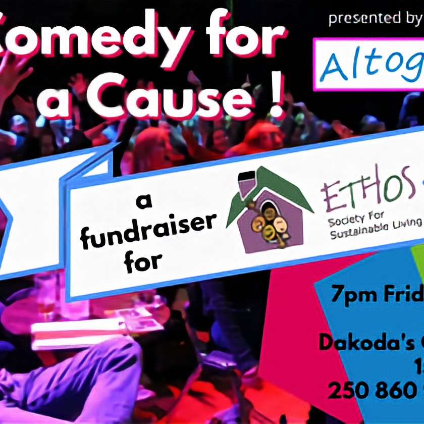 Comedy For A Cause with Kelowna Comedy