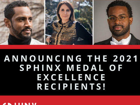 Lina Awarded the Sphinx Medal of Excellence