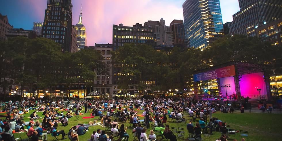 New York Philharmonic at Bryant Park (Debut)