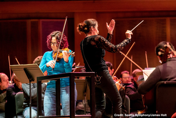 Seattle Symphony, James Holt