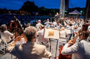 Bryant Park Picnic Performance Summer Season Opens with Four Evenings with the New York Philharmonic