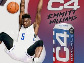 NBA Player Emmitt Williams Scores C4 Deal