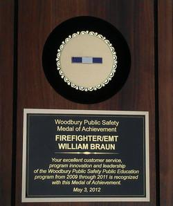Bill's Woodbury Achievement Award