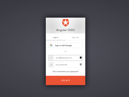 Part 3 - A responsive Angular app with OpenId Connect