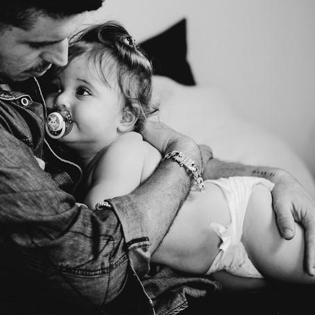 אבא ובת.