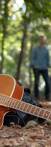The guitar and Carolien