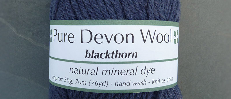 ARAN YARN • BLACKTHORN