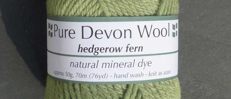 ARAN YARN • HEDGEROW FERN