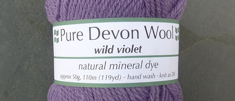 DOUBLE KNIT YARN • WILD VIOLET